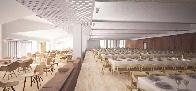 1460ec8fb3952f67389fd0684b8bb289 - 声学   清华大学教师餐厅 / 素朴建筑工作室的声学设计